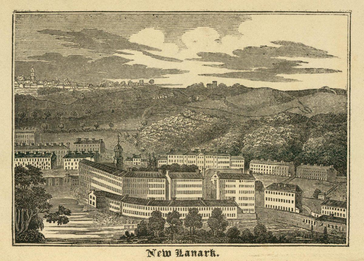 Ophélie Siméon: «Robert Owen et l'expérience de New Lanark: entre aliénation et émancipation (1800-1820)»